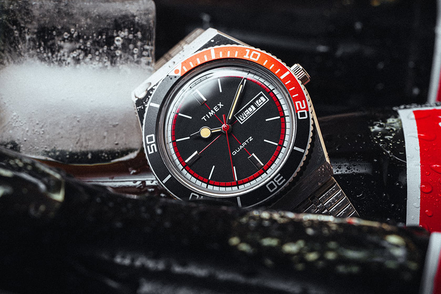 Huckberry x Timex Cola Sport Watch Limited Edition Christmas Gift Guide Horologist