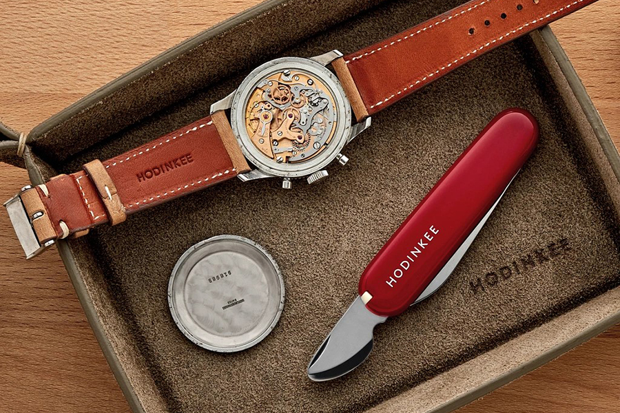 Victorinox For HODINKEE Watchmaker Swiss Army Knife Christmas Gift Guide Horologist