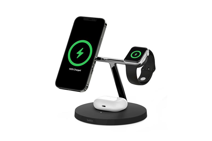 Belkin BOOST Charge Wireless Charging Stand + Speaker Christmas Gift Guide Tech Head