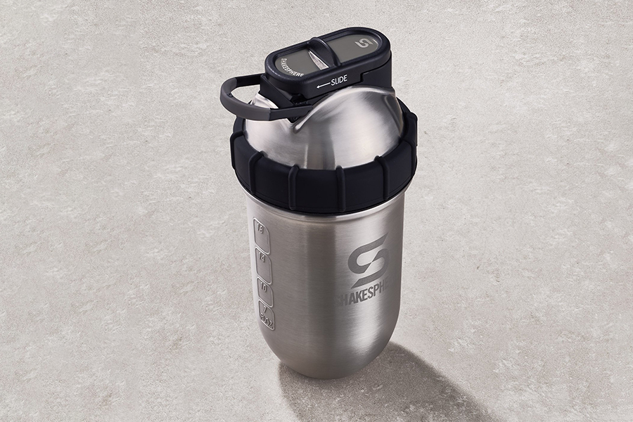 Shakesphere Tumbler STEEL Protein Shaker Christmas Gift Guide Corporate