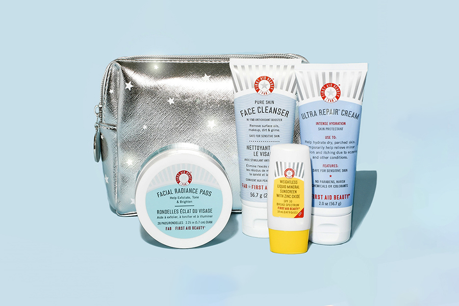 FIRST AID BEAUTY Fab Faves To Go Kit Christmas Gift Guide For Her