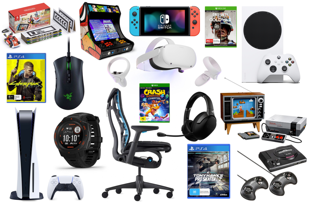 Products from 2020 Christmas Gift Guide Gamer
