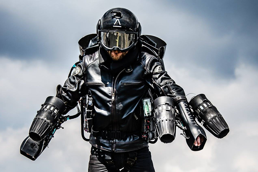 Christmas Gift Guide Luxury Gravity Industries Jetpack Suit