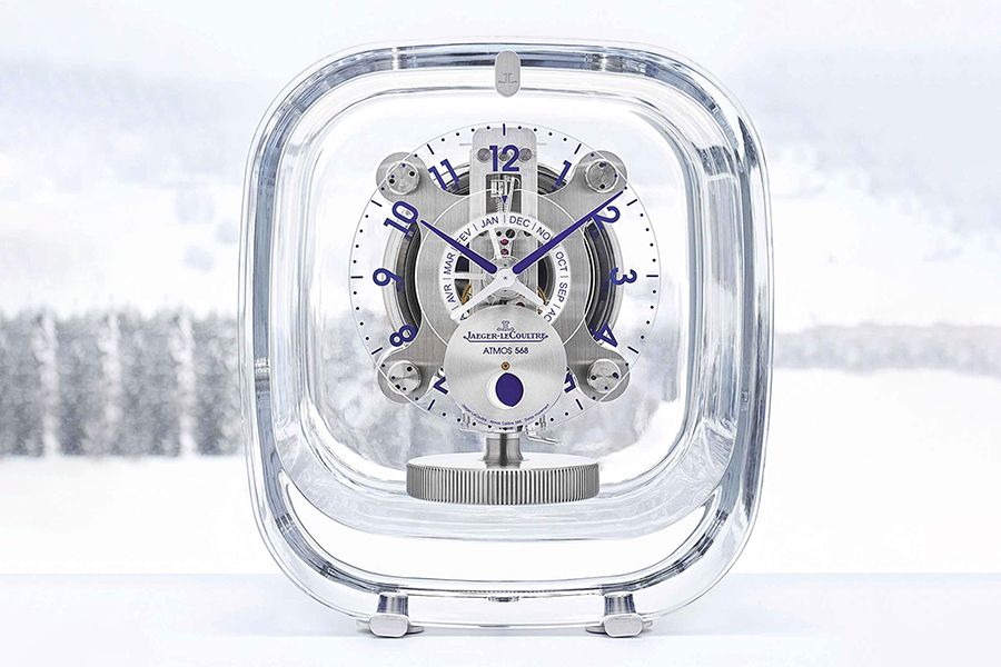 Christmas Gift Guide Luxury Jaeger-LeCoultre + Marc Newson Atmos 568 Clock