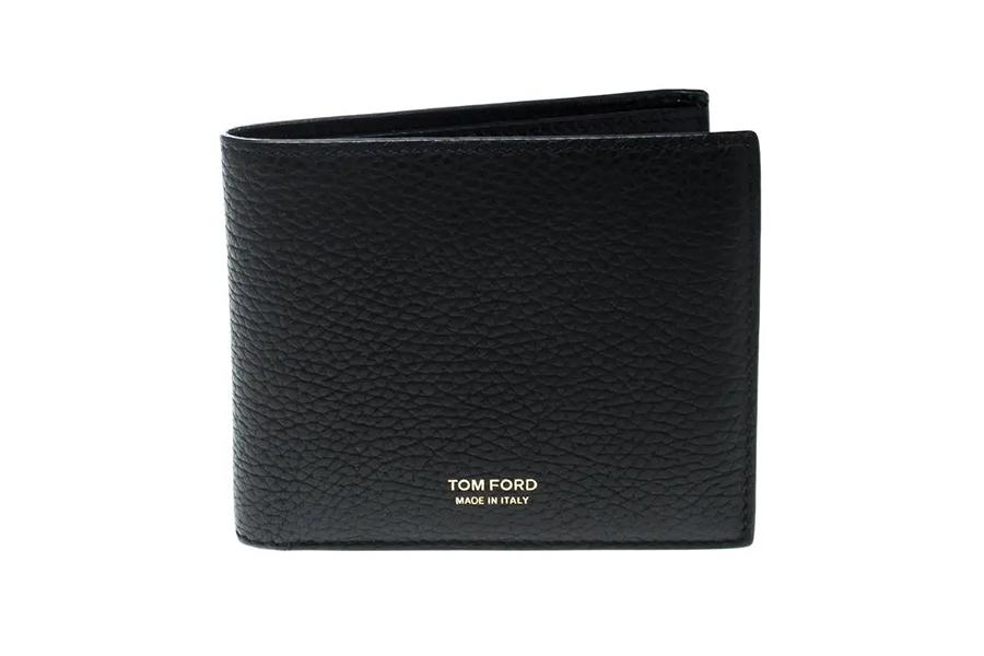 Christmas Gift Guide Luxury Tom Ford Full-Grain Leather Billfold Wallet