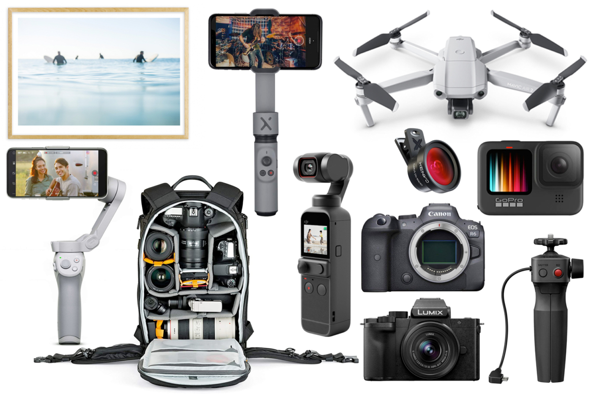 Products from the 2020 Christmas Gift Guide Photography