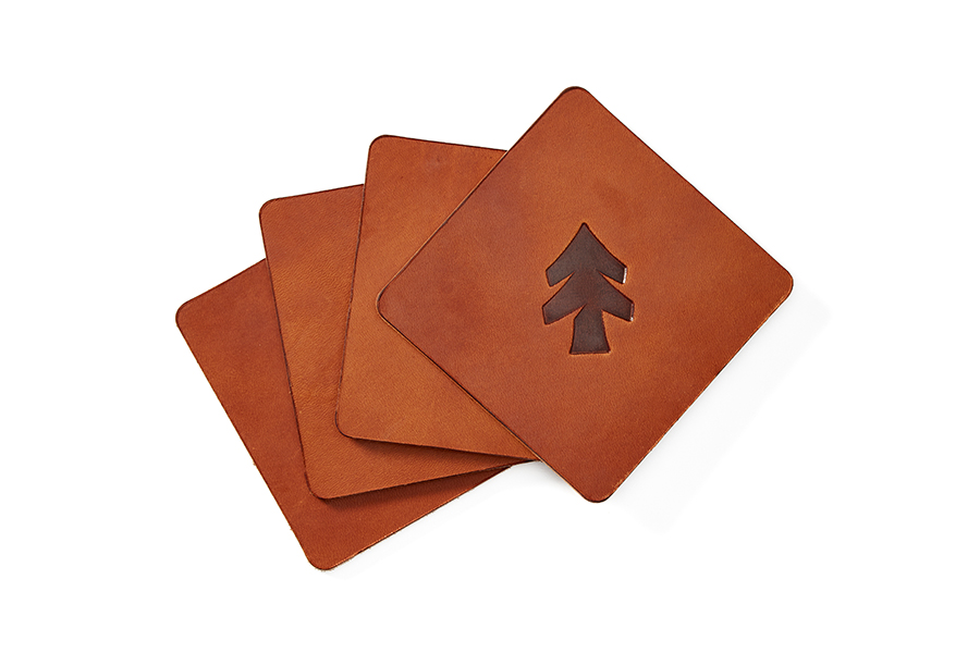 Huckberry Leather Coasters Christmas Gift Guide Boozehound