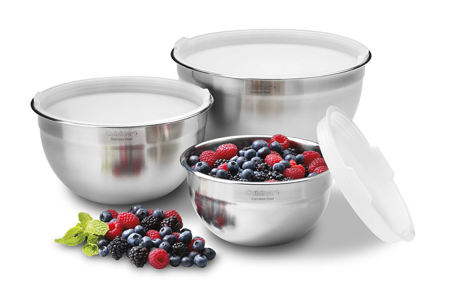 Christmas Gift Guide Cuisinart CTG-00-SMB Stainless Steel Mixing Bowls