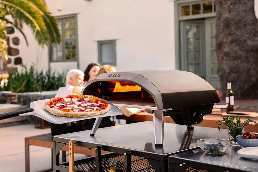 Christmas Gift Guide Ooni Karu Wood and Charcoal-Fired Portable Pizza Oven