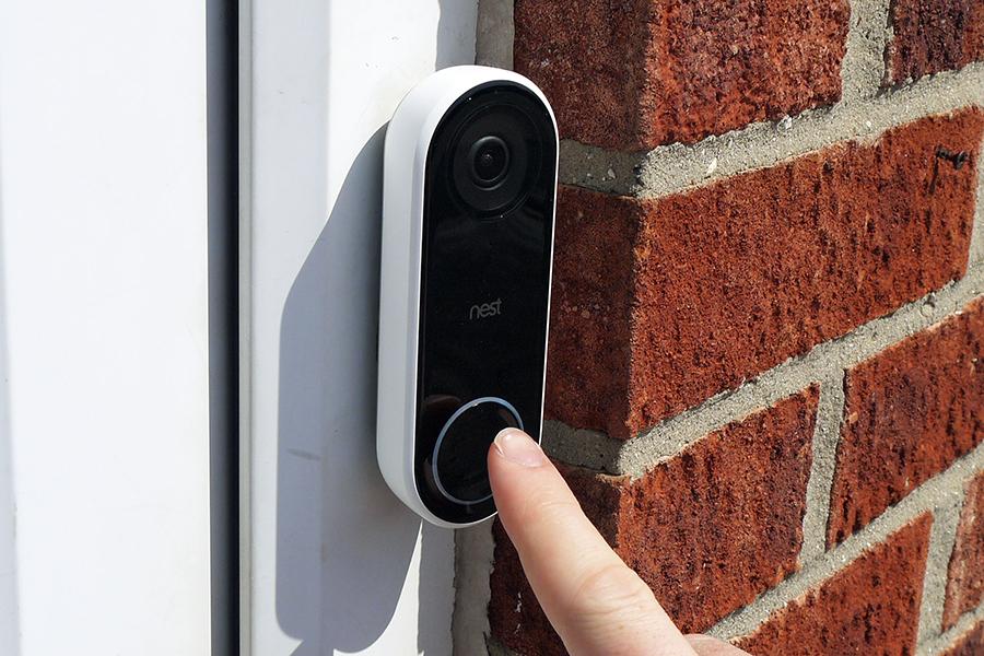 Google Nest Hello Smart Wi-Fi Video Doorbell Christmas Gift Guide Homemaker