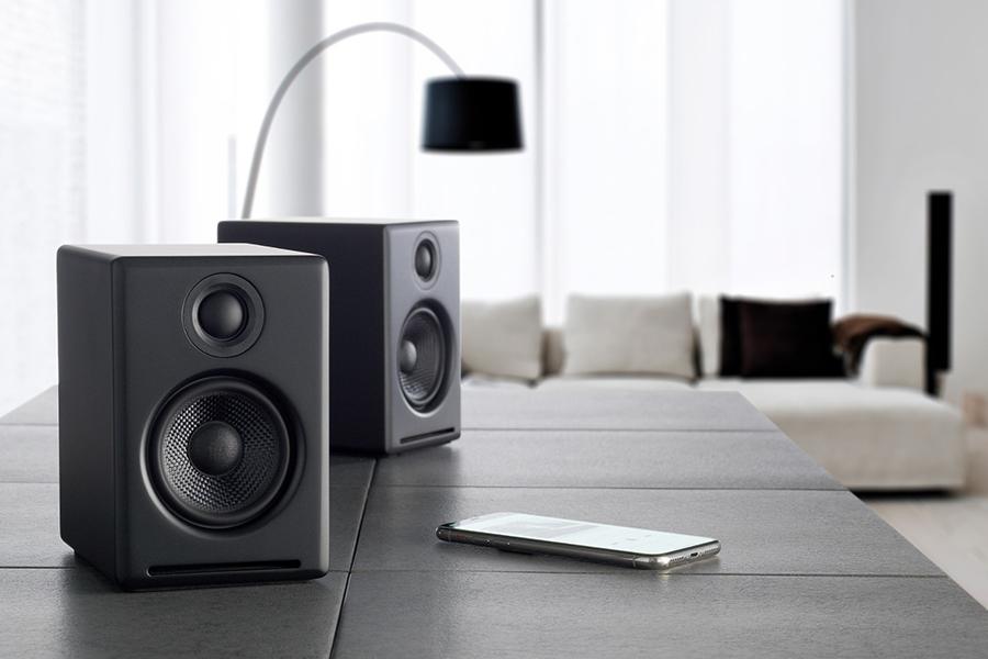 Audioengine A2+ Plus Wireless Speaker Bluetooth Christmas Gift Guide Music Lover