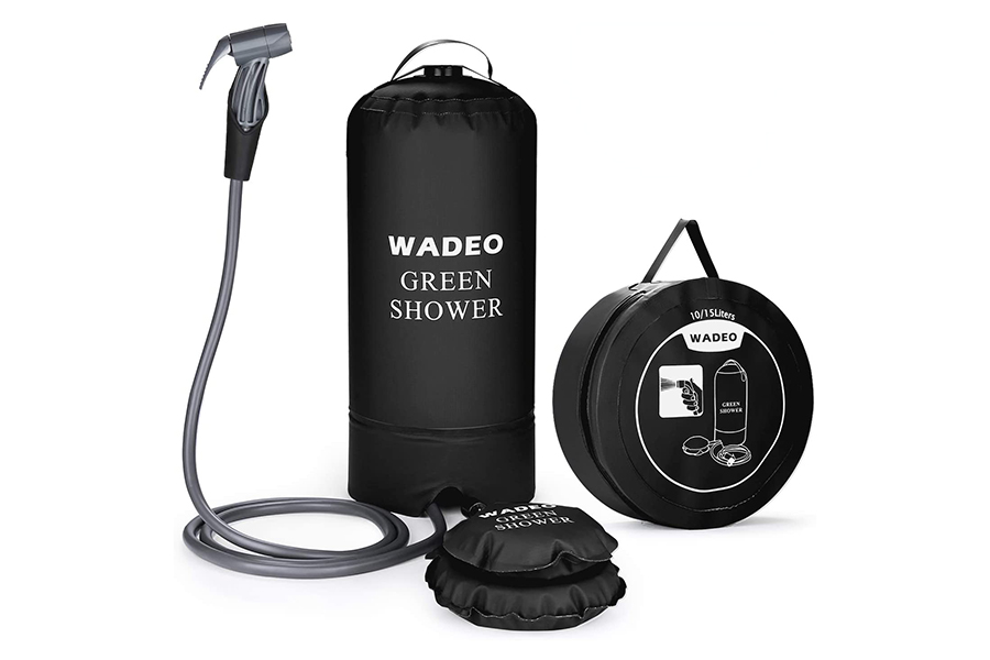 Christmas Gift Guide Outdoorsman WADEO Camping Pressure Shower