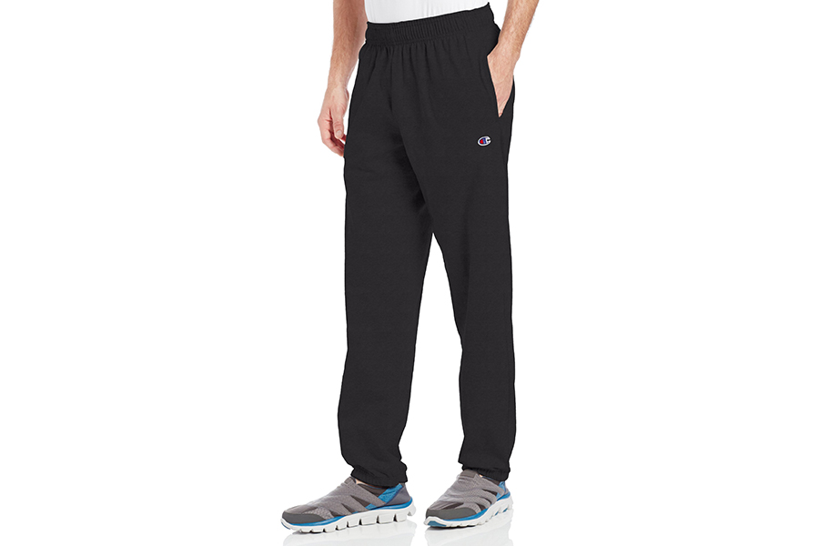 Champion Men's Closed Bottom Light Weight Jersey Sweatpant Christmas Gift Guide Stylish Man