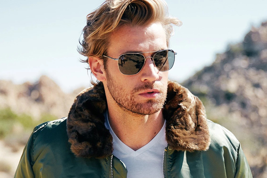 Randolph 23k Gold Aviator Christmas Gift Guide Stylish Man
