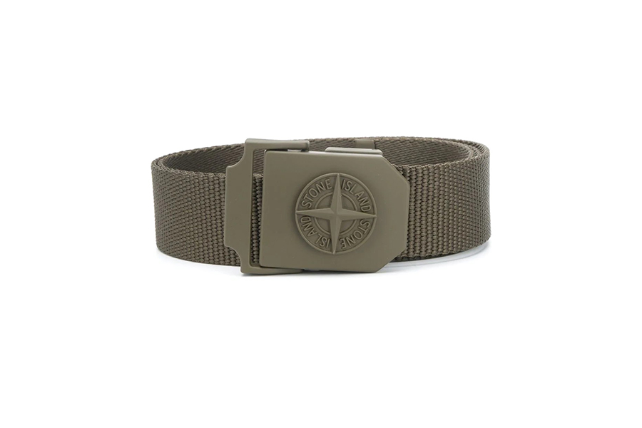 Stone Island Logo-Plaque Belt Christmas Gift Guide Stylish Man