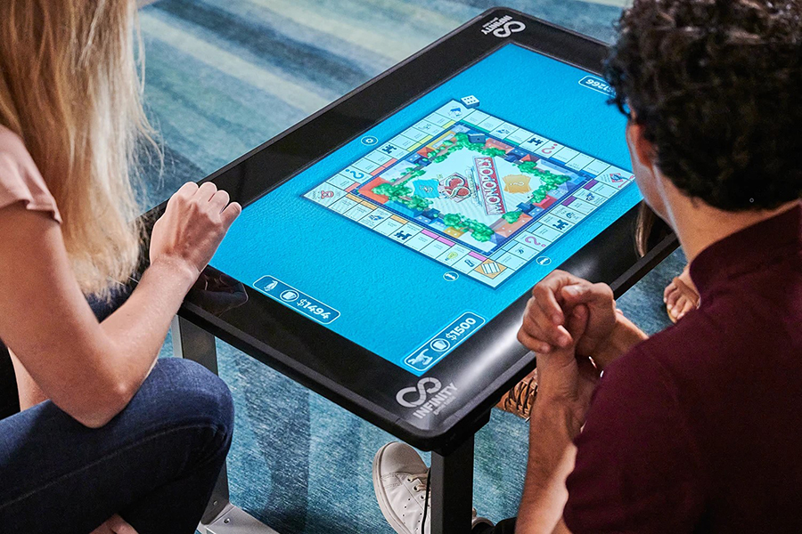 Christmas Gift Guide Toys Arcade 1Up Infinity Game Table