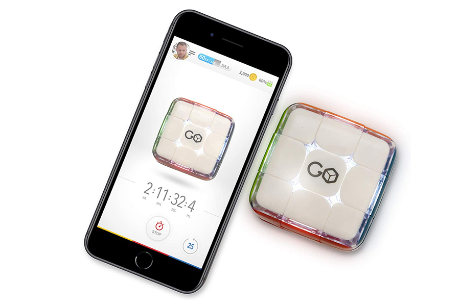 Christmas Gift Guide Toys GoCube The Connected Electronic Bluetooth Rubik's Cube