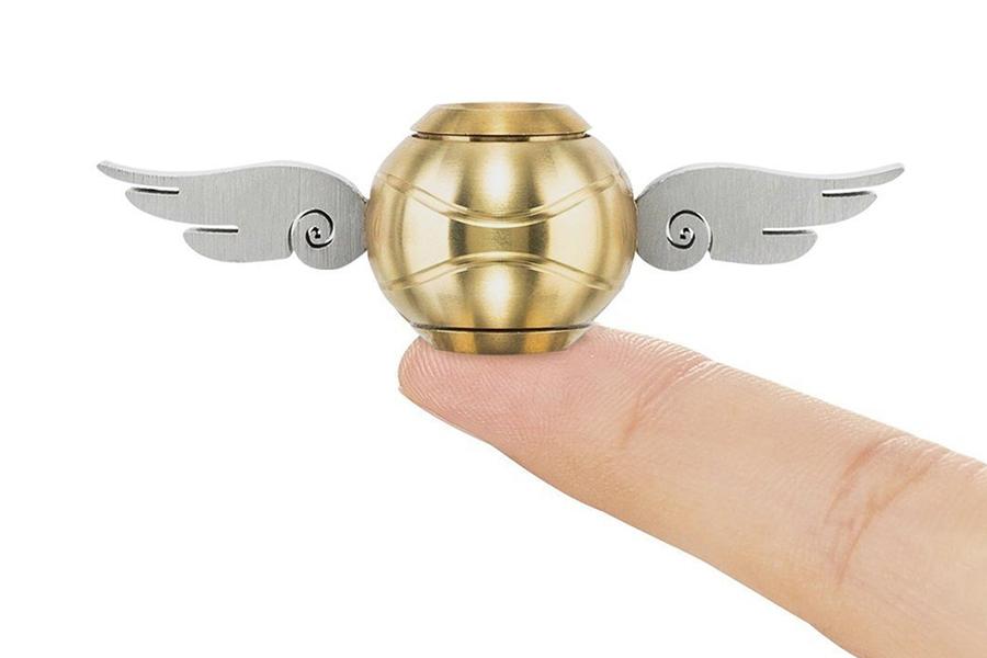 Christmas Gift Guide Toys Golden Snitch Fidget Spinner