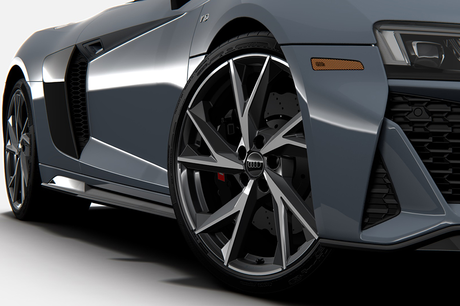 2021 Audi R8 RWD Coupe and Spyder wheel