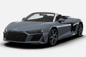 2021 Audi R8 RWD Coupe and Spyder