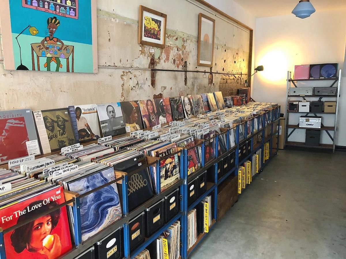 plug seven records interior