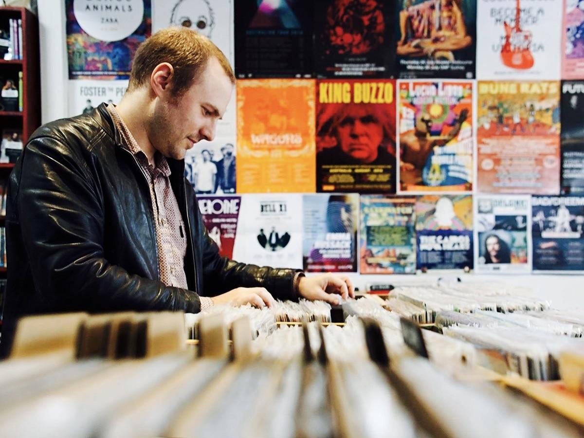 rathdowne records interior
