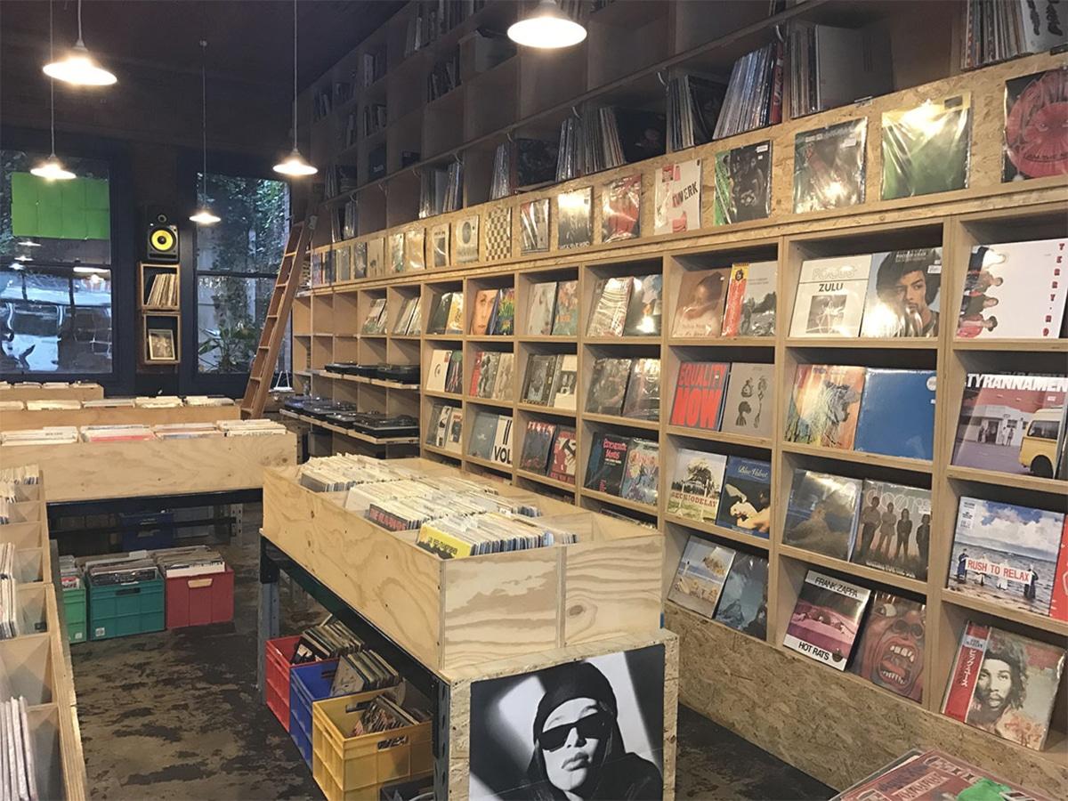 the searchers records interior