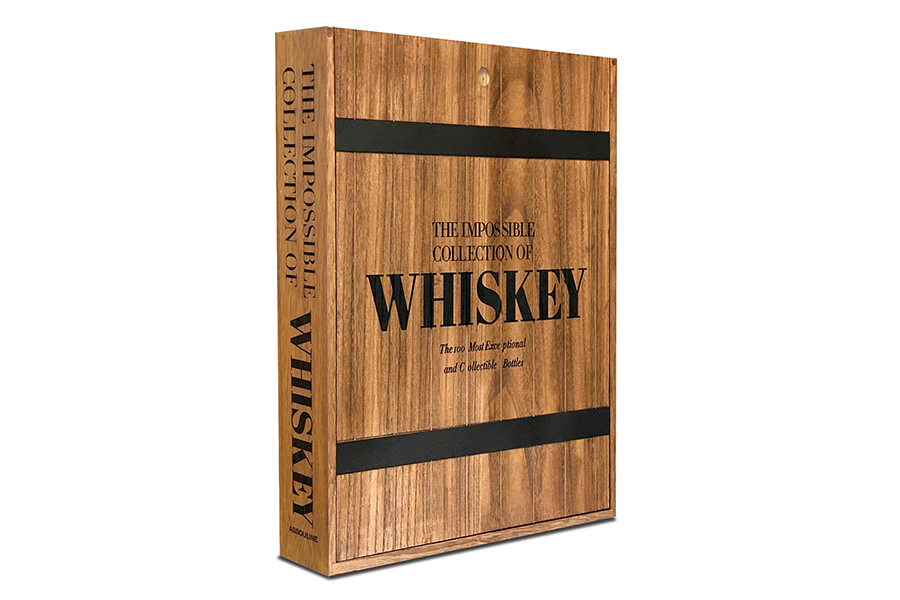 Assouline Impossible Whisky Collection Encyclopedia side view