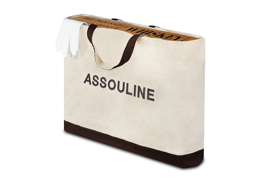 Assouline Impossible Whisky Collection Encyclopedia in bag