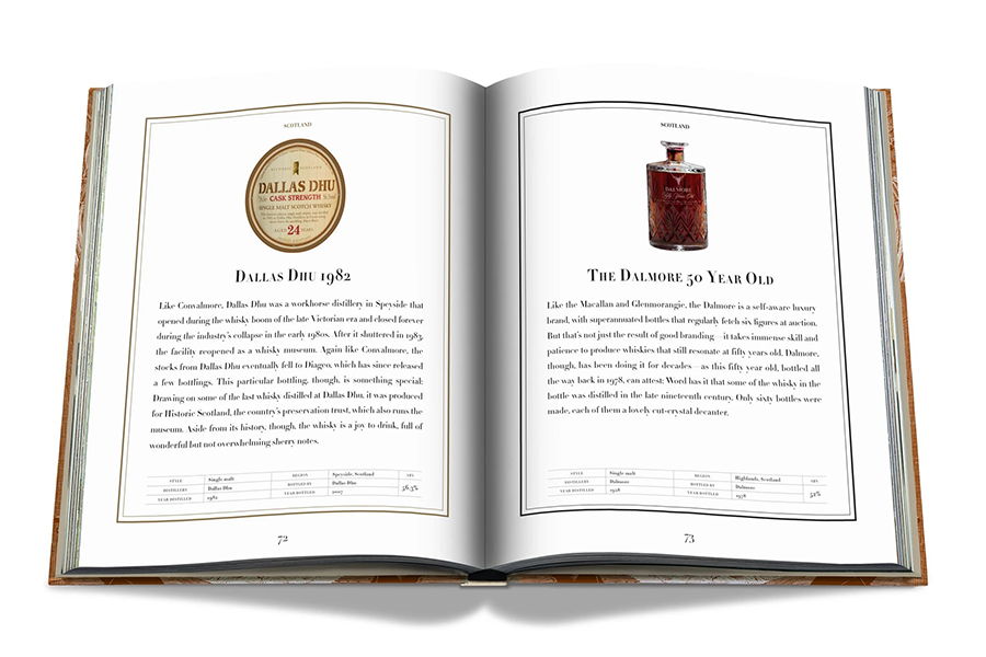 Assouline Impossible Whisky Collection Encyclopedia page