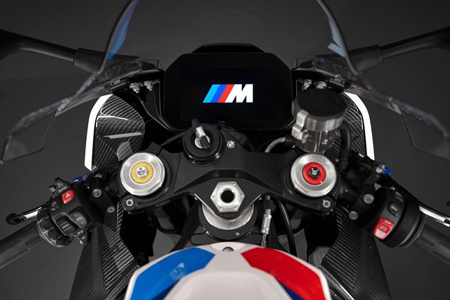 BMW Motors M1000rr steering