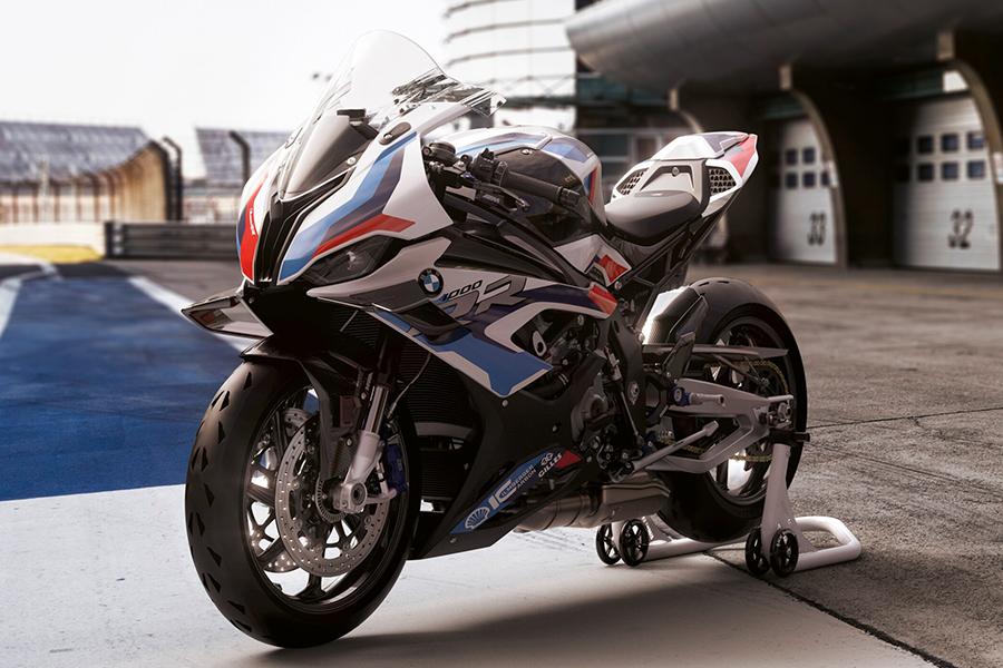 BMW Motors M1000rr motorcycle