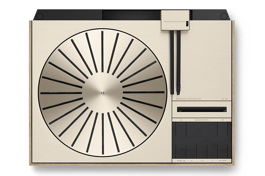 B&O Beogram 4000c turntable top view