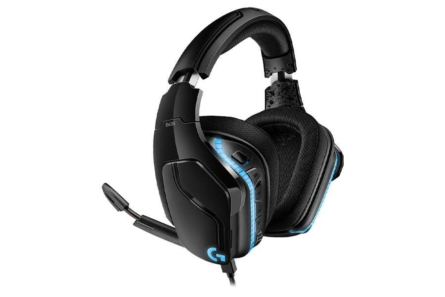 Best Gaming Headsets - Logitech G635 7.1 Lightsync Gaming Headset