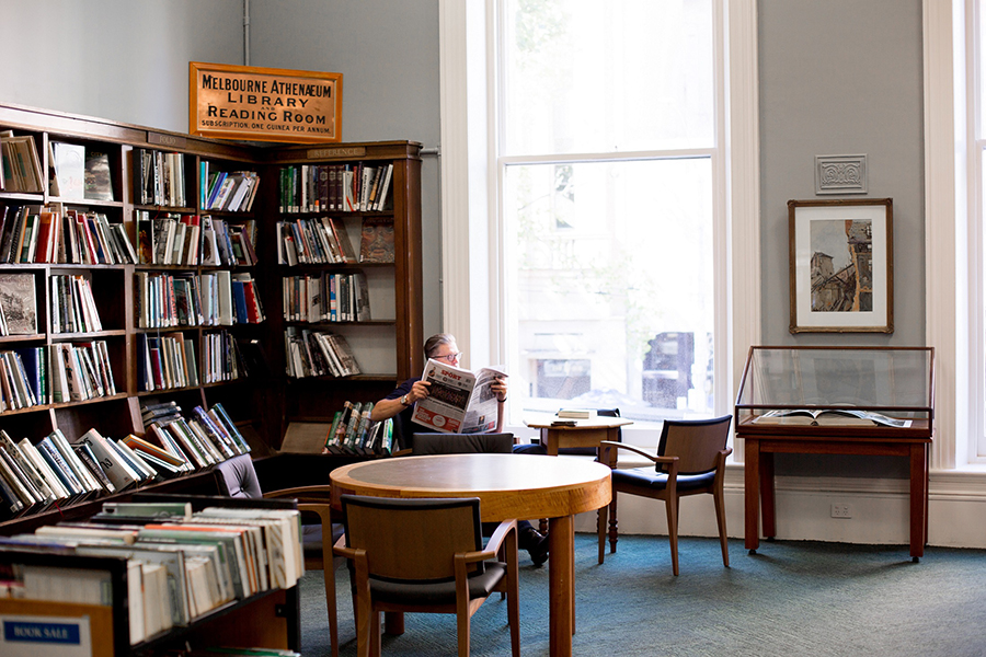 Best Libraries in Melbourne Melbourne Athenaeum Library