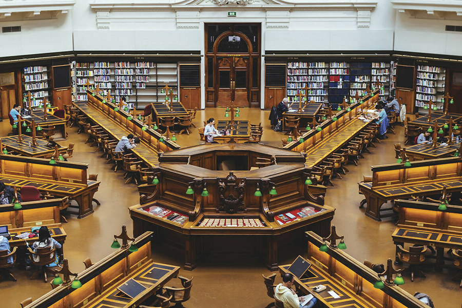 Best Libraries in Melbourne State Library of Victoria