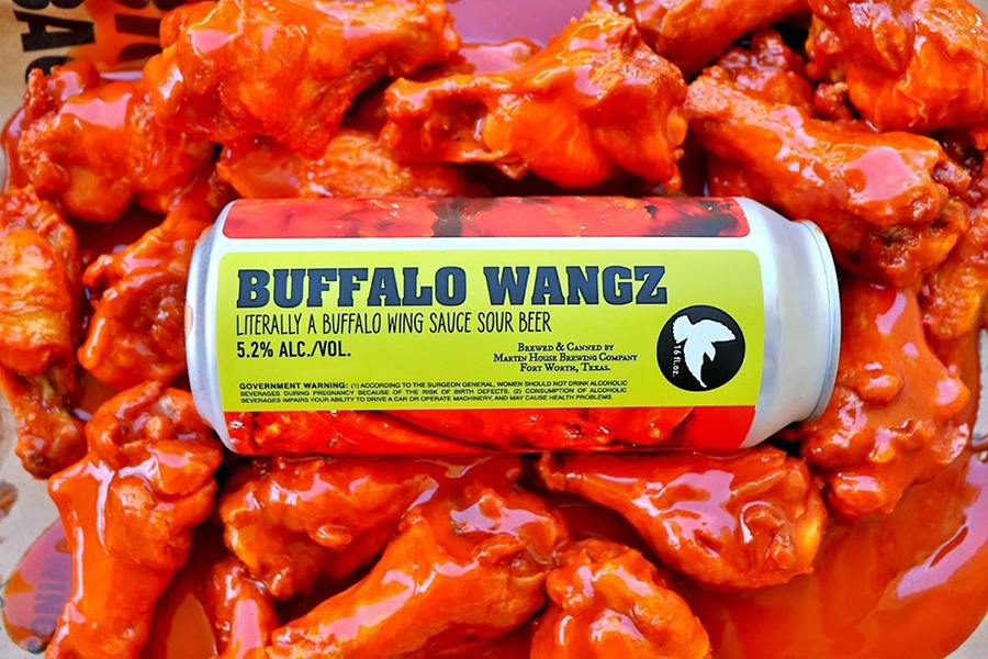 Buffalo Wing Sauce Beer
