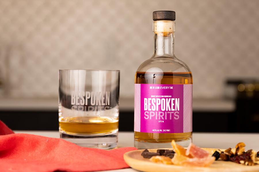 David Jetter Backed Bespoken Spirits bottle