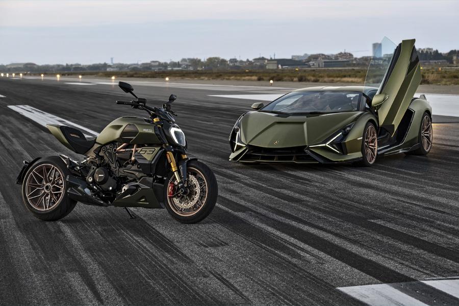 Ducati и Lamborghini объединились для создания ограниченного выпуска Diavel 1260 |  Человек многих