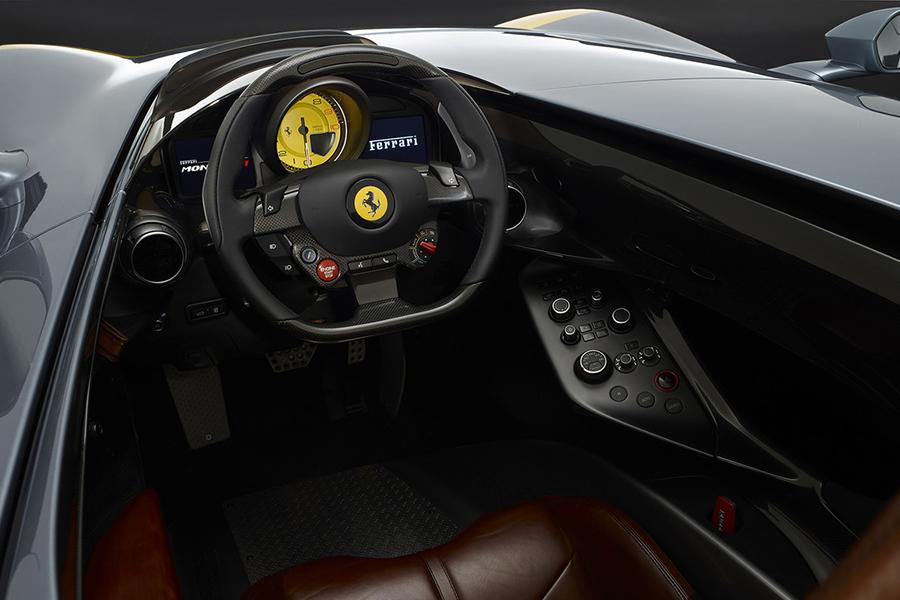 Ferrari Monza SP1 dashboard