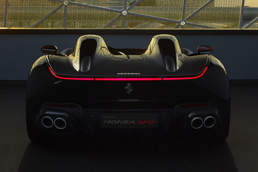 Ferrari Monza SP2 back