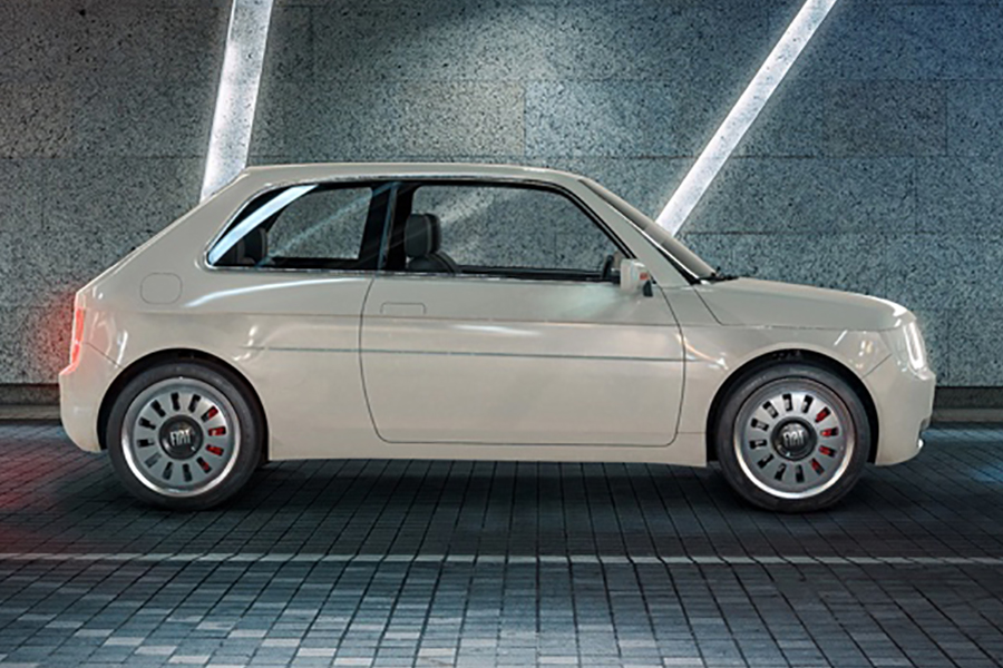 Fiat 126 Vision side view
