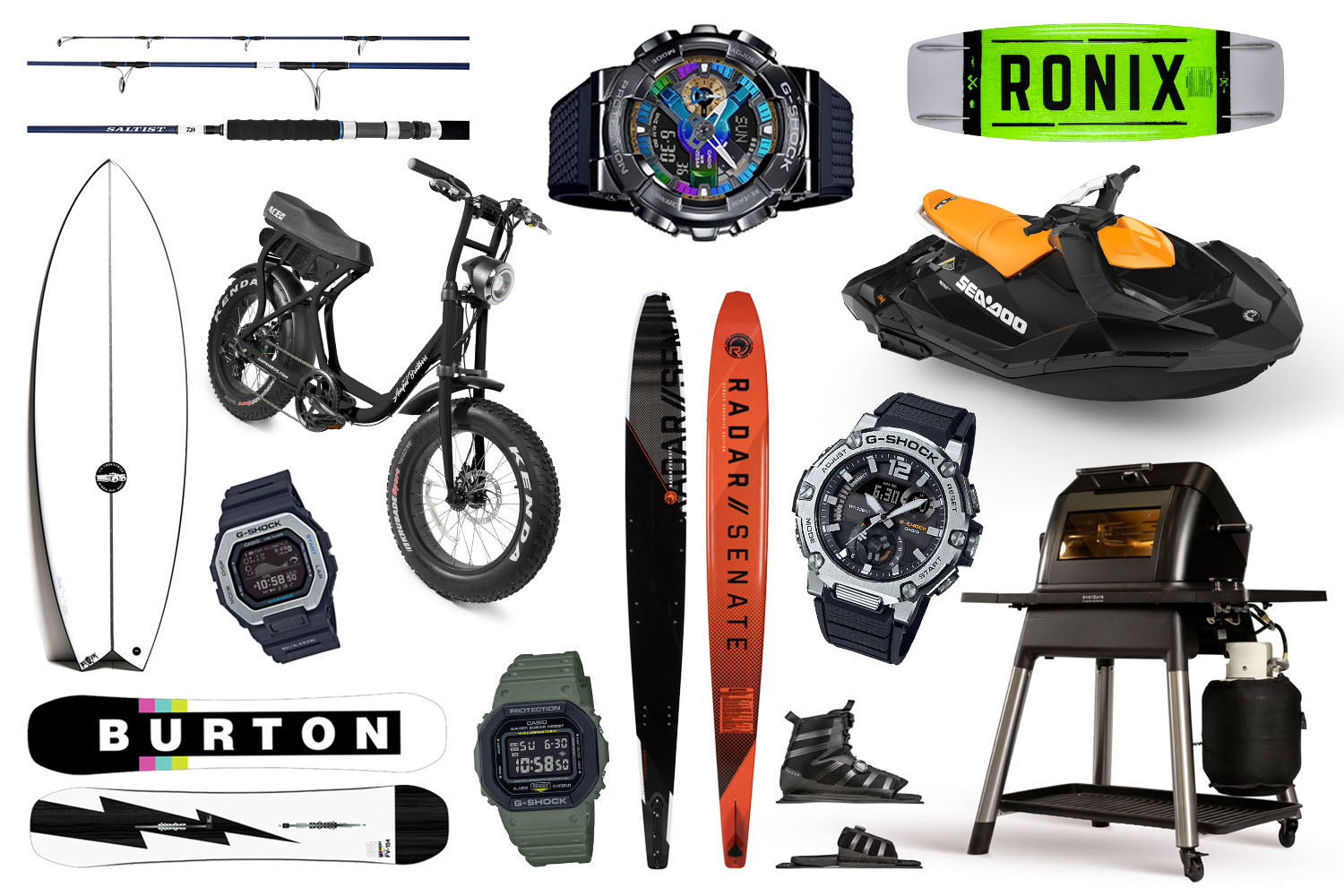 WIN! More Than $100,000 Worth of Outdoor Toys with G-SHOCK!