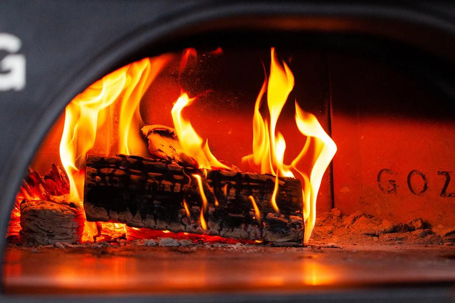 Гозней Купольная печь огонь