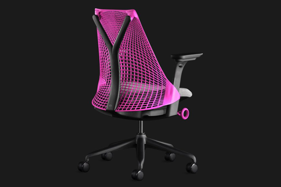Herman Miller Sayl Chair Gaming Edition back view