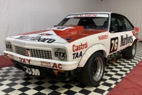 John Harvey's Holden LX Torana three quarters front