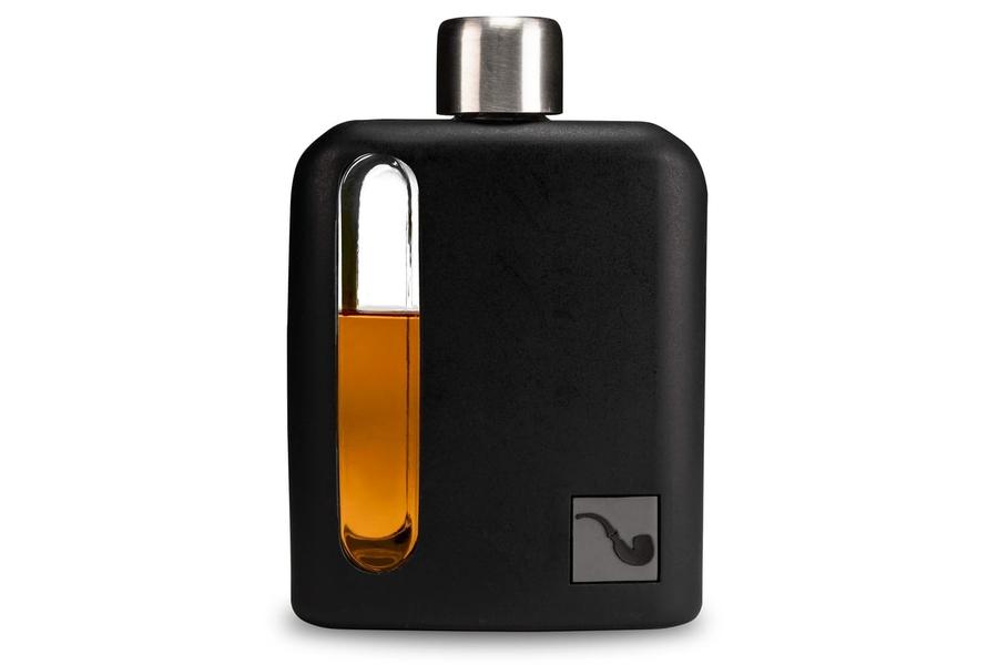 Ragproper Black Silicone + Glass Flask - 100ml