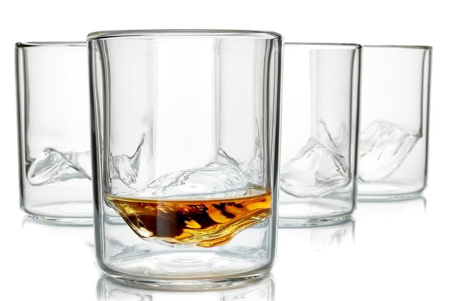 Whiskey Peaks The Rockies - Set of 4