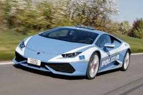 Italian Police Lamborghini