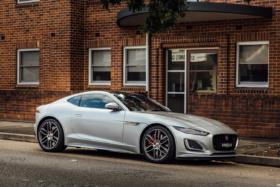 2021 Jaguar F-TYPE R-Dynamic on road